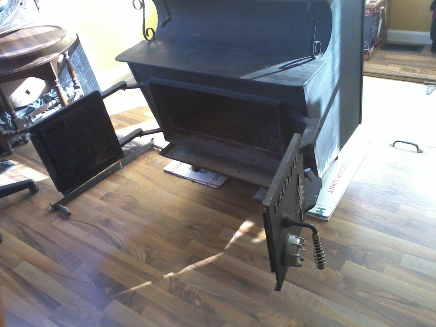 Schrader Fireplace pedestal stove questions | Hearth.com Forums Home