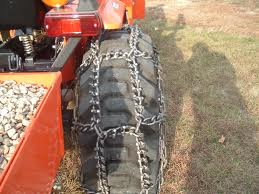 Who has experience with tractor tire chains? Little help