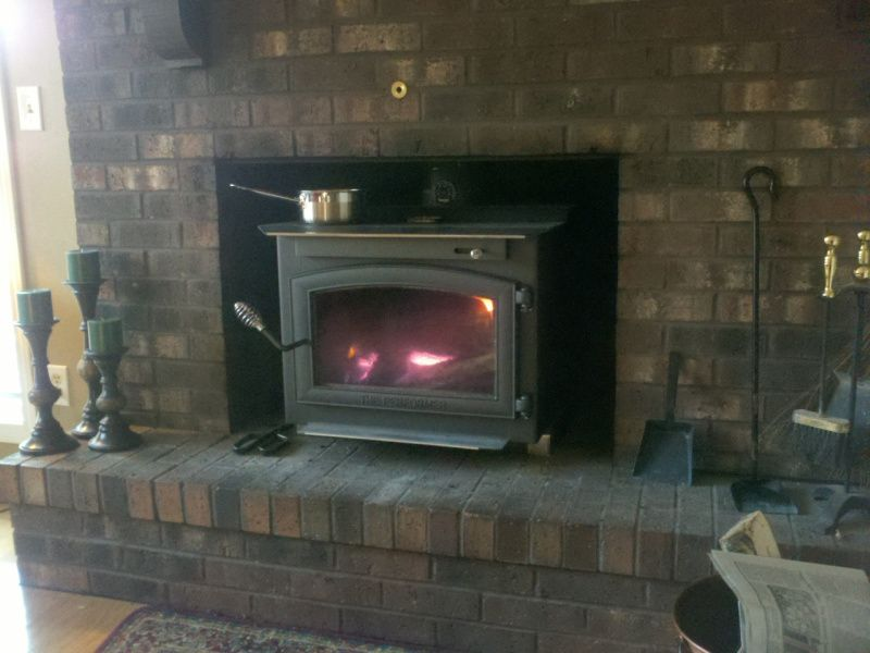 Thoughts On An Englander 30 Wood Stove In A Fireplace