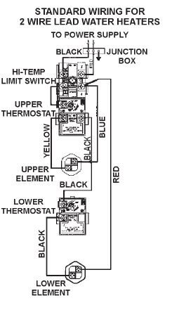 wire diagram for water heater dual element wire water heater wiring diagram dual element wiring diagram on wire diagram for water heater dual element