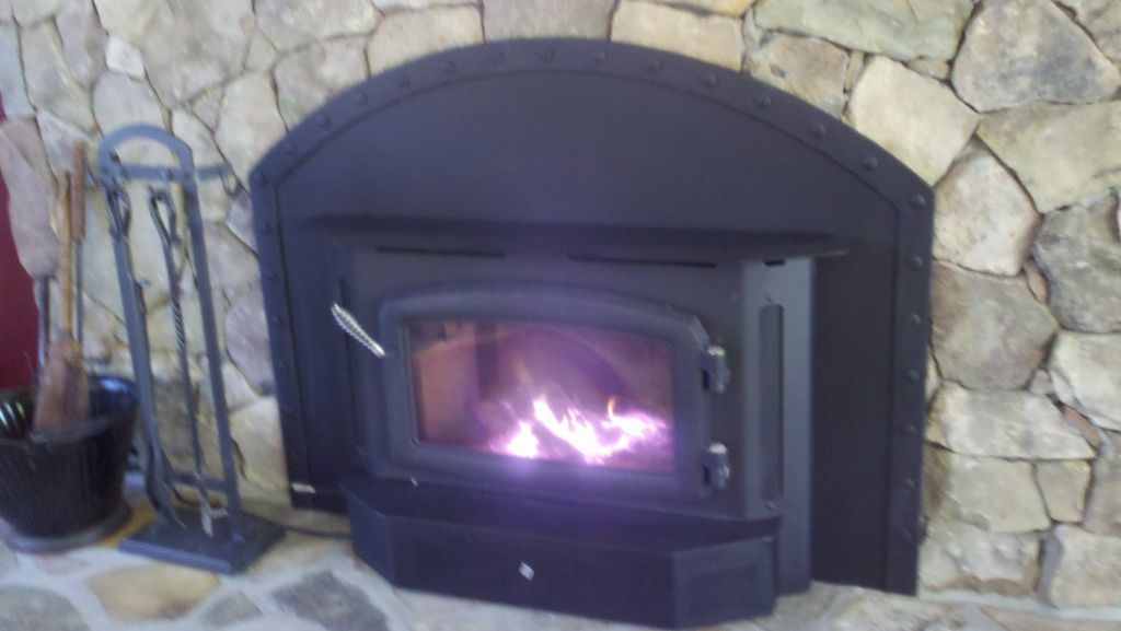 Arch Shapped Fireplace - insert | Hearth.com Forums Home