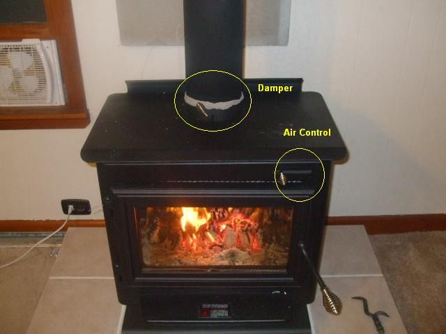 englander 12-FP stove air control question | Hearth.com Forums Home