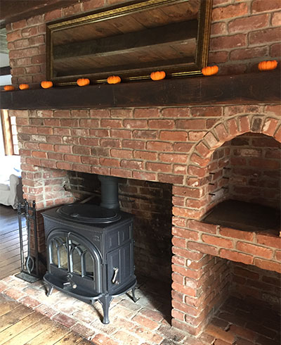 Wood Stove Inside Fireplace Hearth Com Forums Home