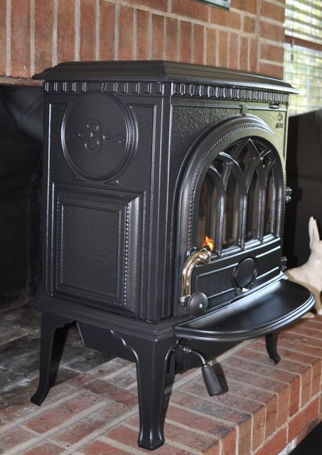 Zero Clearance Stove Replaced With Wood Insert Hearth