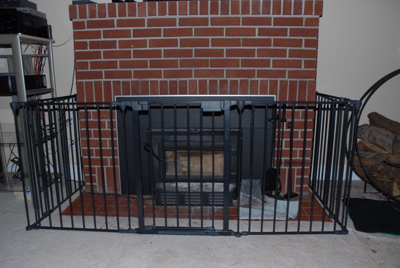 ... Wood stove safety gate??? | Hearth.com Forums Home baby proofing wood - Baby Proofing: BABY PROOFING WOOD BURNING FIREPLACE