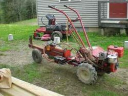 Multitasking At It 39 S Best Wood Splitter And Rototiller Forums Home