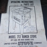 713 Ranch Stove Manual
