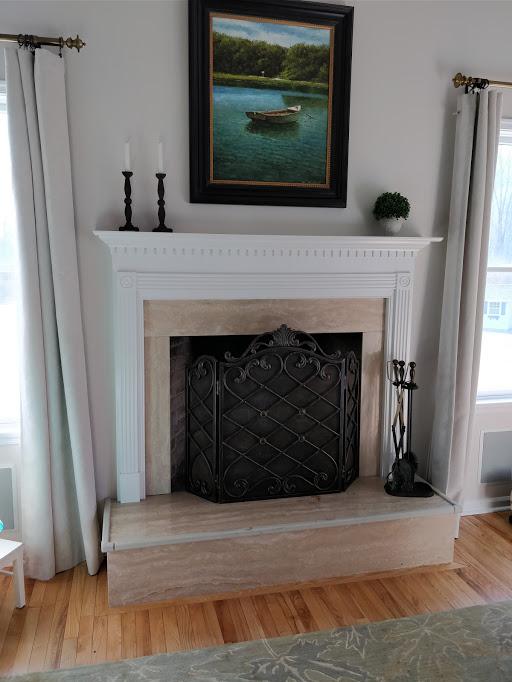 Awe Inspiring Builder Grade Masonry Wood Fireplace Hearth Com Forums Home Download Free Architecture Designs Xerocsunscenecom