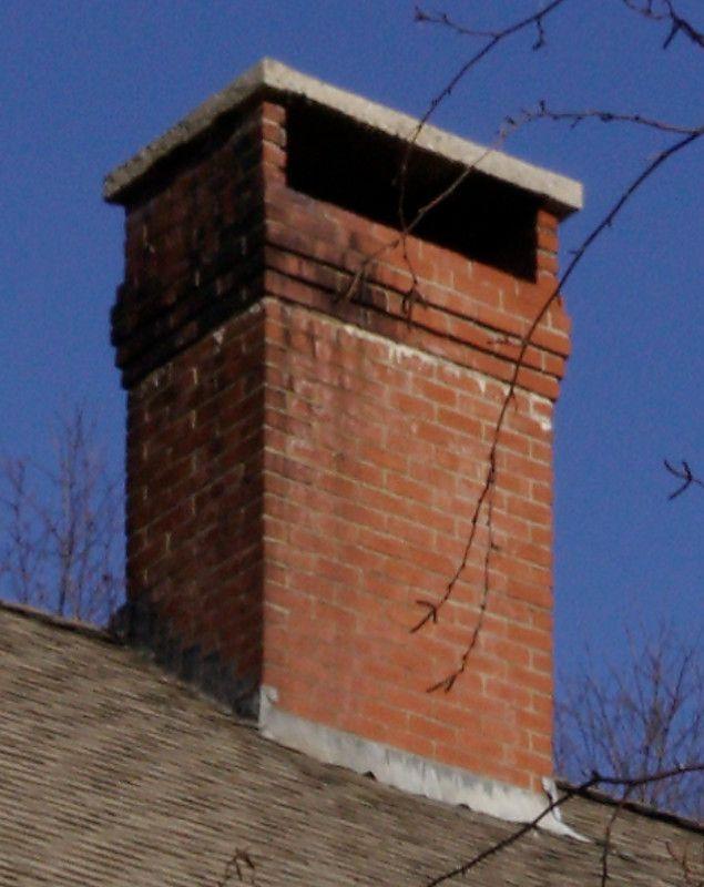 Chimney With Concrete Cap Hearth Com Forums Home