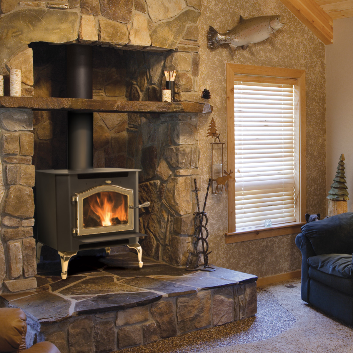 Wood Stove In Fireplace Hearth Com Forums Home